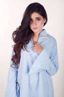 Picture of Blue cotton shirt