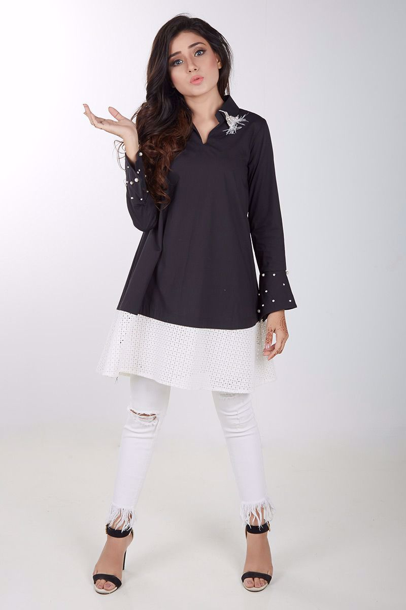 Picture of Black cotton shirt