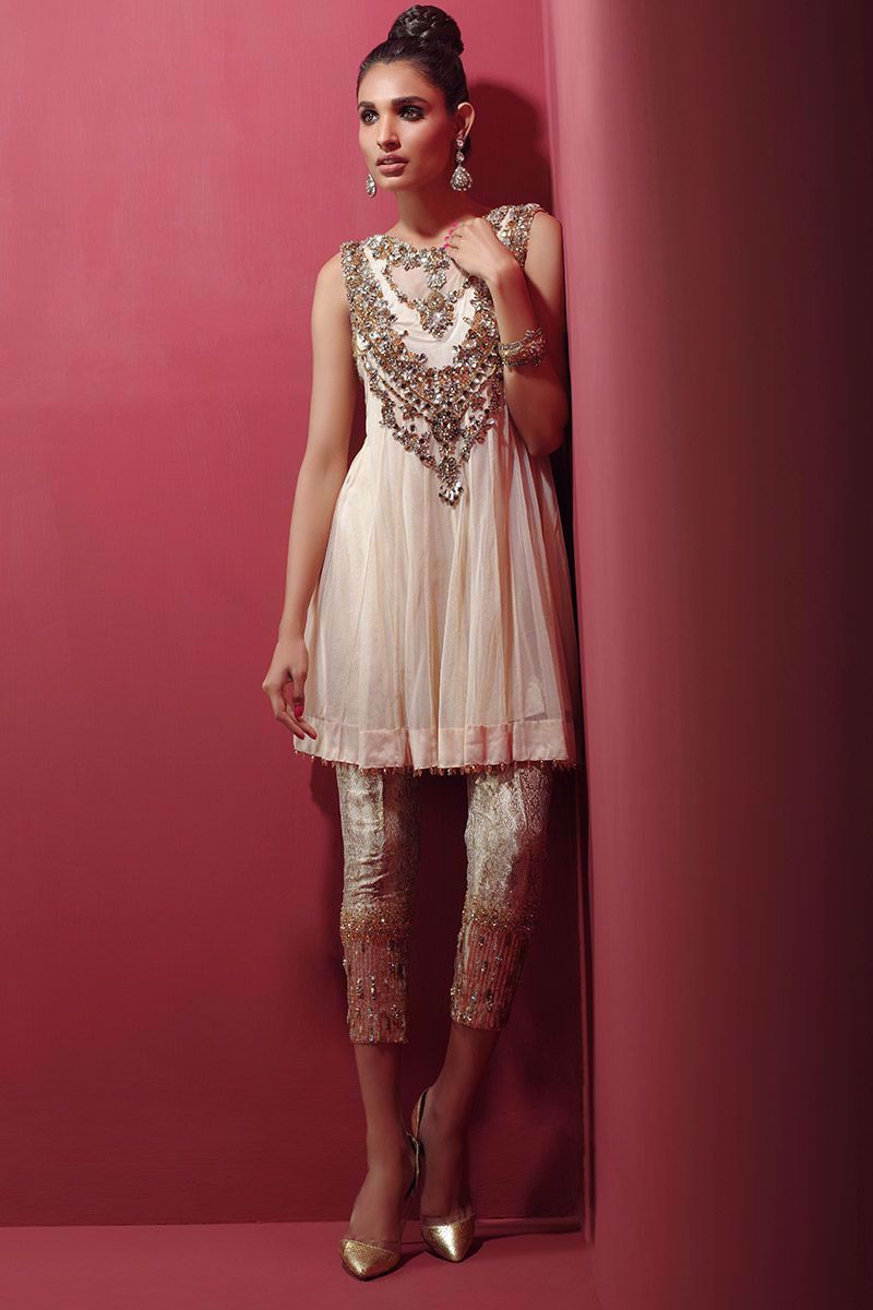 Picture of Nude jewelled top